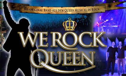 "Konzert ""We Rock Queen"" vom September bis November u. a. in Dortmund, Bad Lippspringe und Stadtlohn (bis zu 40% sparen)"