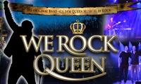 """Konzert """"We Rock Queen"""" vom Februar bis April 2018 in u. a. Köln, Stadtlohn und Niederkrüchten (bis zu 50% sparen)"""