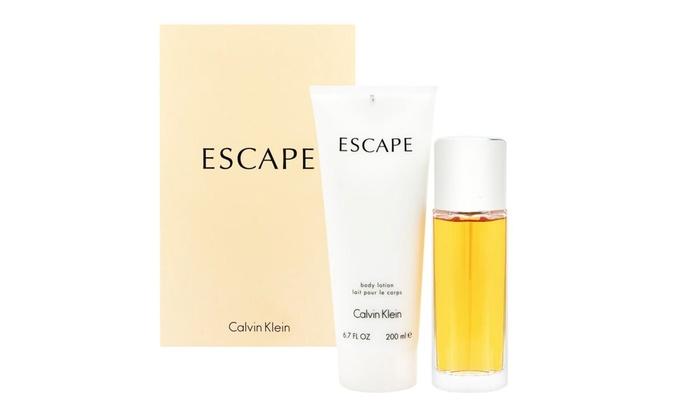 Pour Lait Calvin Parfum 100ml De Et Escape 200ml Coffret Eau Corporel Klein Femme UpSMVzqG