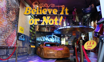 Ticket inclusief 'Skip the line' voor Ripley's Believe It Or Not! in Amsterdam