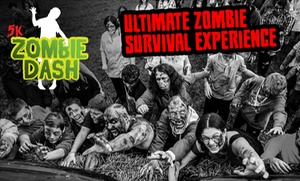 Zombie Dash: Zombie Dash: Survivor or Zombie Entry for One or Two, 29 October