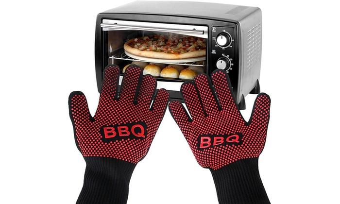 Paio di guanti da forno