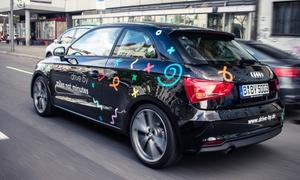 Drive by GmbH: Anmeldegebühr sparen für Carsharing (Audi A1 od. Fiat 500) mit 30 o. 50 Frei KM bei Drive by GmbH (bis zu 61% sparen*)