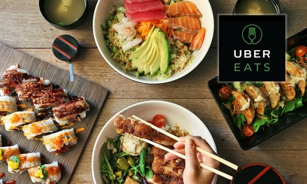 $4 credit towards your first two deliveries with UberEATS New Users Only
