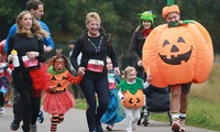 Trick or Treat 2.5K or 5K Run on 28 October at Southwark Park (Up to 30% Off)