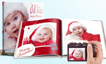 20, 40 or 60Page Hardcover Square Photobook from £2.99