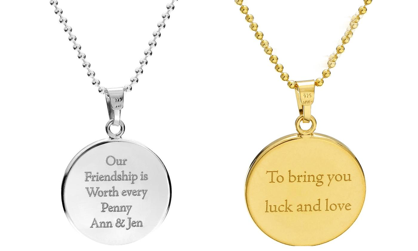 lucky penny necklaces