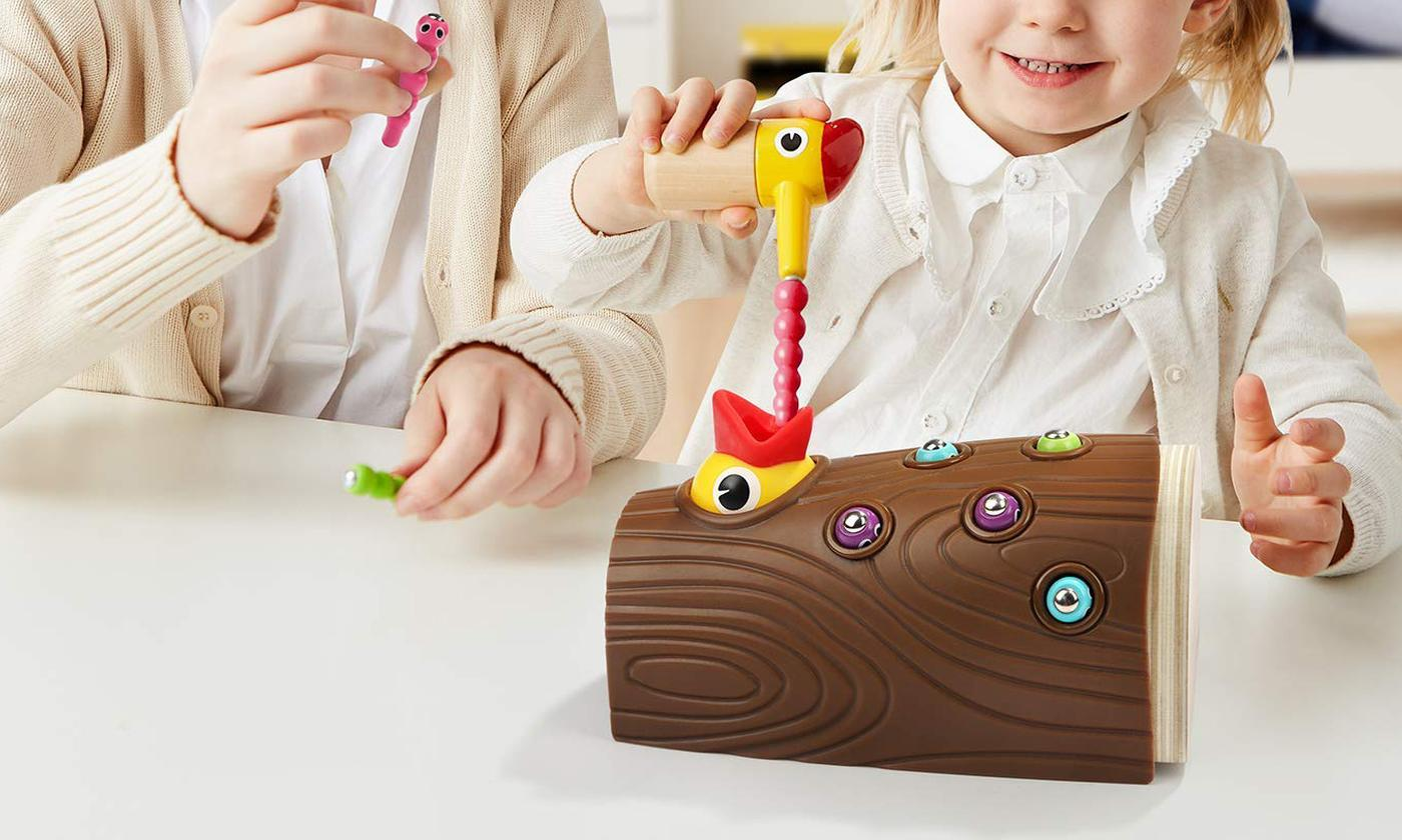 Milly & Ted Hungry Chick Magnetic Feeding Game