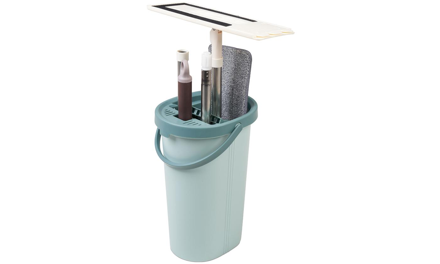 One or Two Flat Mop Bucket Sets