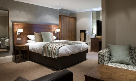 Quorn: 1 or 2 Nights for Two with Breakfast and Option for Dinner and Wine at Quorn Country Hotel