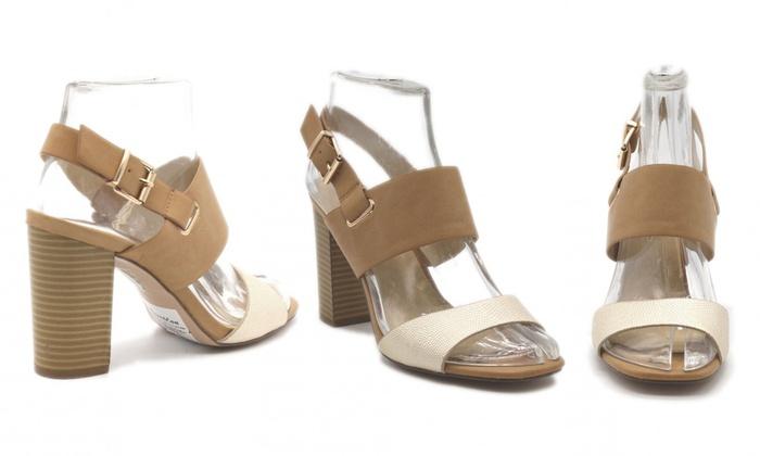 Sandales à talons et brides Amélia, coloris et pointures au choix