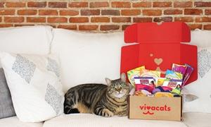 Vivacats: Wertgutschein über 25 oder 114 € anrechenbar auf ein 1- oder 6-Monats-Abo einer Vivacats Überraschungsbox