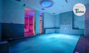 Ferretti Beach Hotel Rimini: Ingresso illimitato in spa per 2 persone con camera, massaggio e cena al Ferretti Beach Hotel Rimini (sconto fino a 55%)
