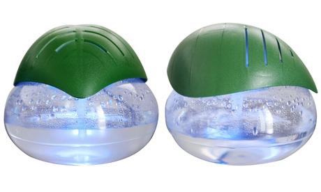 EcoGecko Green Leaf Air Cleaner and Revitalizer Essential Oil Diffuser with 10ml Lavender Oil d162039c-8cf7-11e7-878d-00259069d7cc