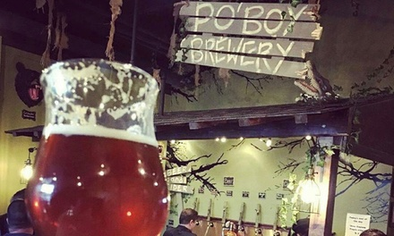 Brewery Packages for One, Two, or Four People at Po'Boy Brewery (Up to 59% Off)