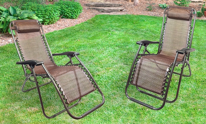 zero gravity lounge chairs pack chair with cup holder and canopy costco