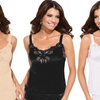 Under Moments Women's Lace-Accent Camisoles (3-Pack)