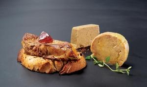 La Maison du Magret: Souper 4 services pour 2 ou 4 personnes au restaurant La Maison du Magret (jusqu'à 47 % de rabais)