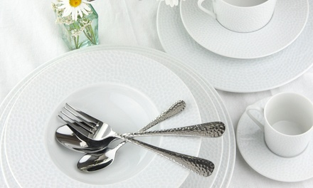 One or Two Apollo 16Piece Stainless Steel Cutlery Sets