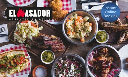 Two-Course Argentine Meal for Two ($45) or Four People ($89) at El Asador (Up to $156 Value)