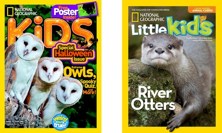 National Geographic Kids and National Geographic Little Kids Subscriptions (Up to 33% Off)