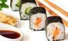 Up to 42% Off Sushi at Wasabi Sushi