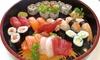 Box d'asporto dumpling o sushi