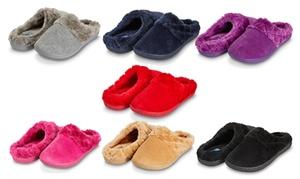 Floopi Women's Indoor Outdoor Slippers with Memory Foam
