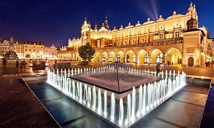 ✈ Krakow: 24 Nights at a Choice of Hotels with Auschwitz Birkenau Memorial Tour and Flights*
