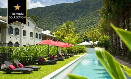 Palm Cove: 3 or 5 Nights or 4 People with Wine and Late CheckOut at Mango Lagoon Resort & Wellness Spa
