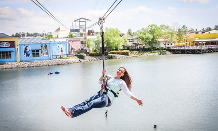 Soar and Explore Combo Tickets for One, Two, or Four People at Soar & Explore Zip Line (Up to 40% Off)
