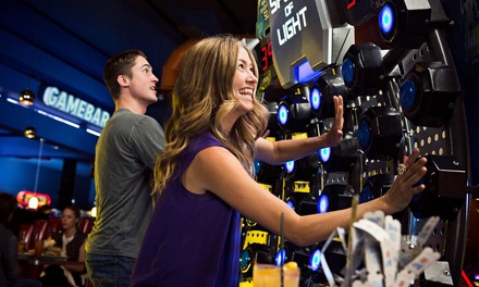 $25 for All-Day Gaming Package for Two at Dave & Buster's – Milpitas ($70 Value)