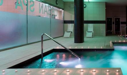 Circuito spa y menú con entrante, principal, postre y bebida para 2 o 4 desde 34,99 € en URH Spa Ciutat de Mataró