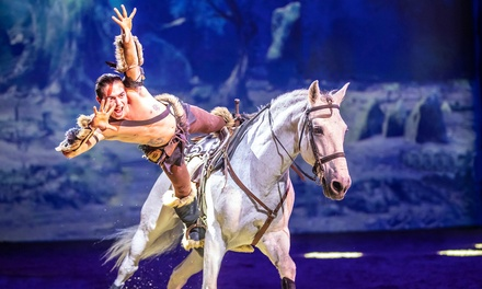 3erang ticket voor paardenshow CAVALLUNA World of Fantasy op 30 of 31 maart 2019 bij Rotterdam Ahoy