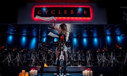 $39 for Four Premium Indoor Cycling Classes at CycleBar Capitol East ($88 Value)
