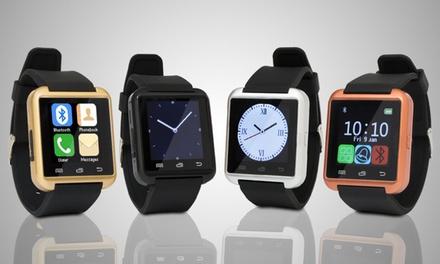 BasTek smartwatch compatibel met Android en iPhone in kleur naar keuze voor € 16,99