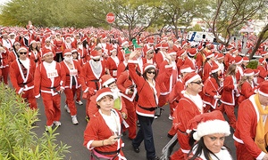 Opportunity Village Foundation: Entry for One or Two Adults or Two Adults and Two Children to the Las Vegas Great Santa Run 5K (Up to 41% Off)