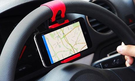 1, 2 o 4 soportes de volante para móvil