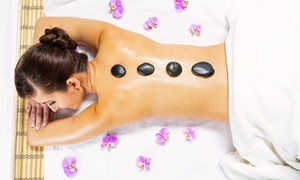 Peppermint Salon: Choice of Massage or Luxury Facial with Hot Stone Back Massage at Peppermint Salon (Up to 63% Off)