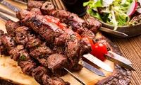 Orientalisch-türkisches 3-Gänge-Menü mit Grill-Teller für 2 oder 4 Personen im Hanedan Restaurant (bis zu 43% sparen*)