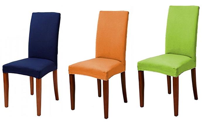 Fundas para sillas universales groupon goods - Fundas universales para sofas ...