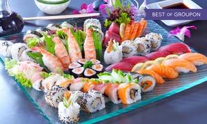 Yakoolza: Sushi All-you-can-eat inkl. Vorspeise und Getränk für 2 oder 4 Personen bei Yakoolza Sushi Club (bis zu 35% sparen*)