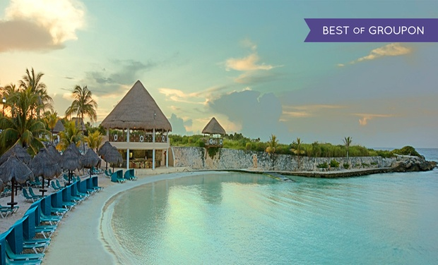 TripAlertz wants you to check out ✈ 5-Night All-Inclusive Occidental at Xcaret Destination w/ Air, Deluxe Room & Unlimited Access to Xcaret Xperience ✈ 5-Night Occidental at Xcaret Destination w/ Air from Travel by Jen   - All-Inclusive Mexico Vacation