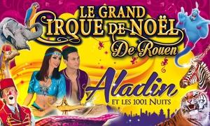 Le Grand Cirque de Noël: 1 place en tribune d'honneur pour l'une des représentations du Grand Cirque de Noël à Rouen à 10 €