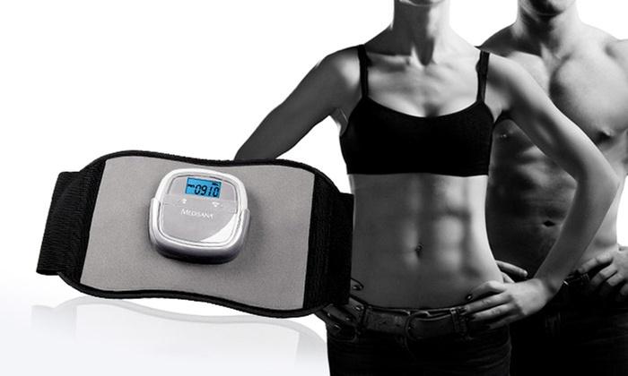 ceinture abdominale par stimulation musculaire medisana groupon. Black Bedroom Furniture Sets. Home Design Ideas