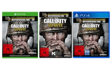 Activision Call of Duty  WWII für PC, Xbox One oder Playstation 4
