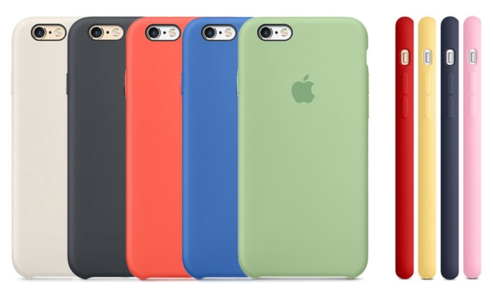 custodia iphone bianca silicone