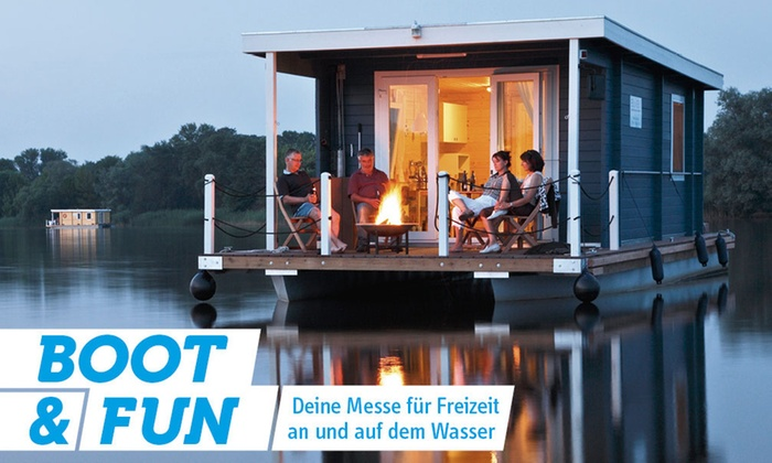 """2 Karten für die Messe BOOT & FUN oder """"Autotage Berlin"""" vom 23.11. bis 26.11. auf der Messe Berlin (bis zu 50% sparen)"""