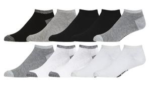Steve Madden Low-Cut Moisture-Wicking Socks (10-Pairs)
