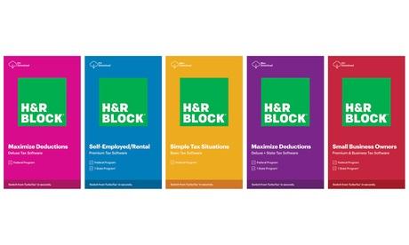 2020 H&R Block Tax Software Digital Download